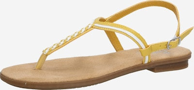 RIEKER Sandal in Yellow / White, Item view
