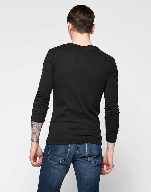 G-STAR RAW Langarmshirt in Slim Fit 'Base R T L/S'