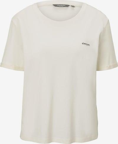MINE TO FIVE T-Shirt Lockeres T-Shirt mit kleiner Stickerei in weiß, Produktansicht