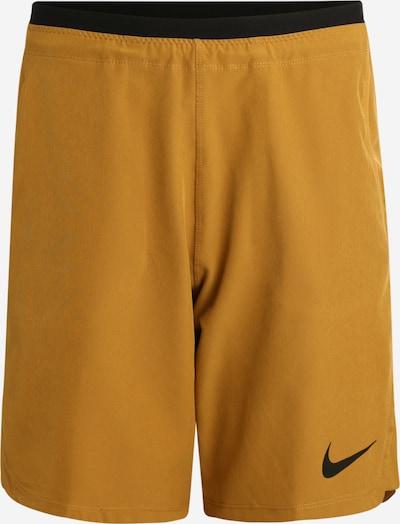 Sportinės kelnės 'FLEX REPEL SHORT NPC' iš NIKE , spalva - smėlio, Prekių apžvalga