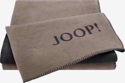JOOP! Deken in de kleur Taupe / Antraciet, Productweergave