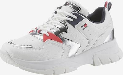 TOMMY HILFIGER Sneaker in marine / silber / weiß, Produktansicht