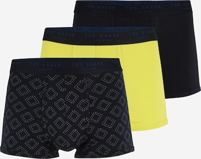 Ted Baker Boxershorts in kobaltblau / gelb / grau, Produktansicht