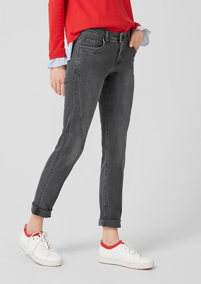s.Oliver Jeans in grey denim, Modelansicht