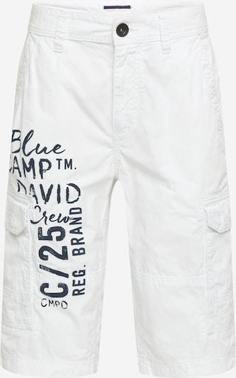 CAMP DAVID Hose in schwarz / weiß, Produktansicht