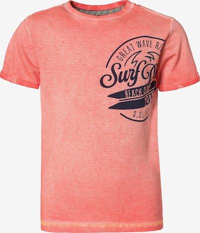 s.Oliver Junior T-Shirt in rot / schwarz, Produktansicht