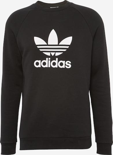 ADIDAS ORIGINALS Sweat-shirt 'Trefoil' en noir, Vue avec produit