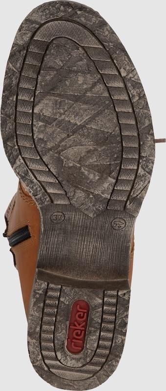 RIEKER Schnürstiefelette mit Fleecefutter Verschleißfeste billige Schuhe