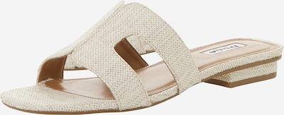 Dune LONDON Slipper 'LOUPE' in beige / creme, Produktansicht