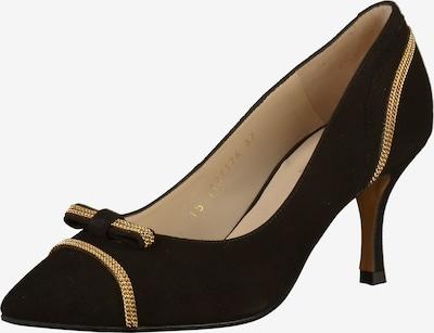 Lodi Pumps in goldgelb / schwarz, Produktansicht