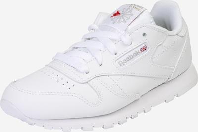 Reebok Classic Sneaker aus strukturiertem Leder in weiß, Produktansicht