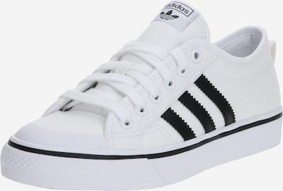ADIDAS ORIGINALS Sport-Schuhe 'Nizza J' in schwarz / weiß, Produktansicht