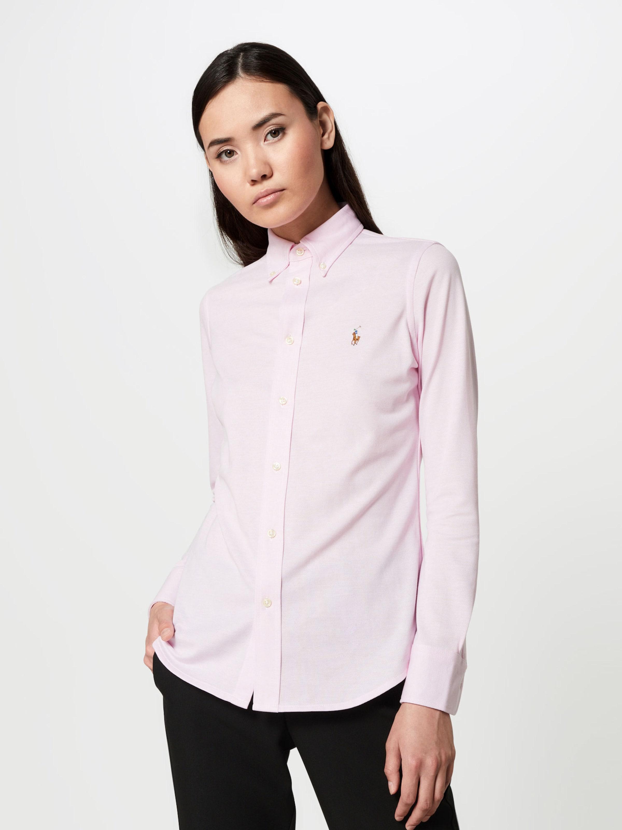 Ralph Bluse Lauren 'heidi' Polo In Rosa f7Ibg6Yyv