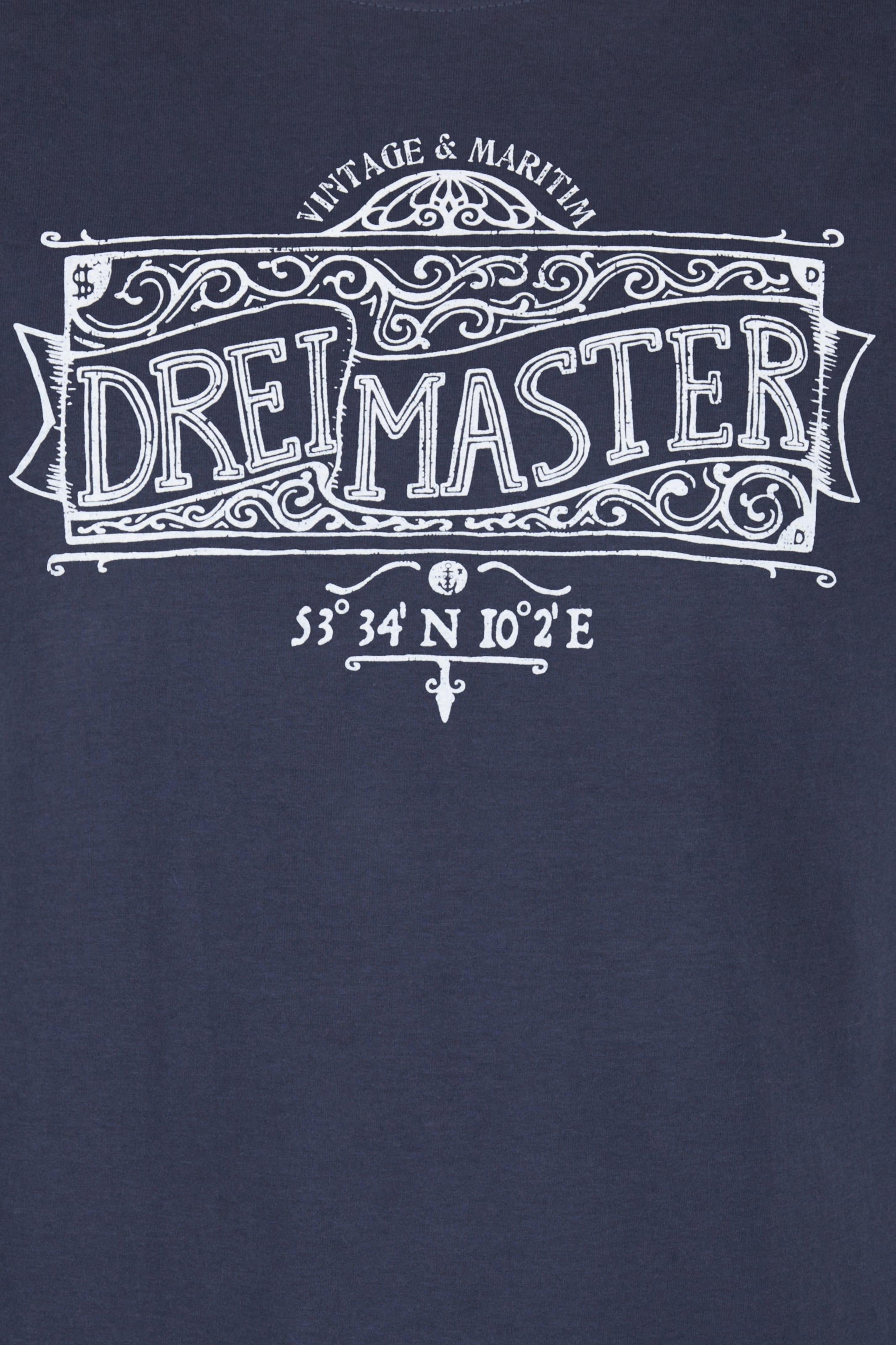 DREIMASTER T-Shirt Billige Echte Spielraum Niedrig Kosten Verkauf Neuer Stile Bester Ort Zum Verkauf Wirklich Billig Preis BOVDefesUE