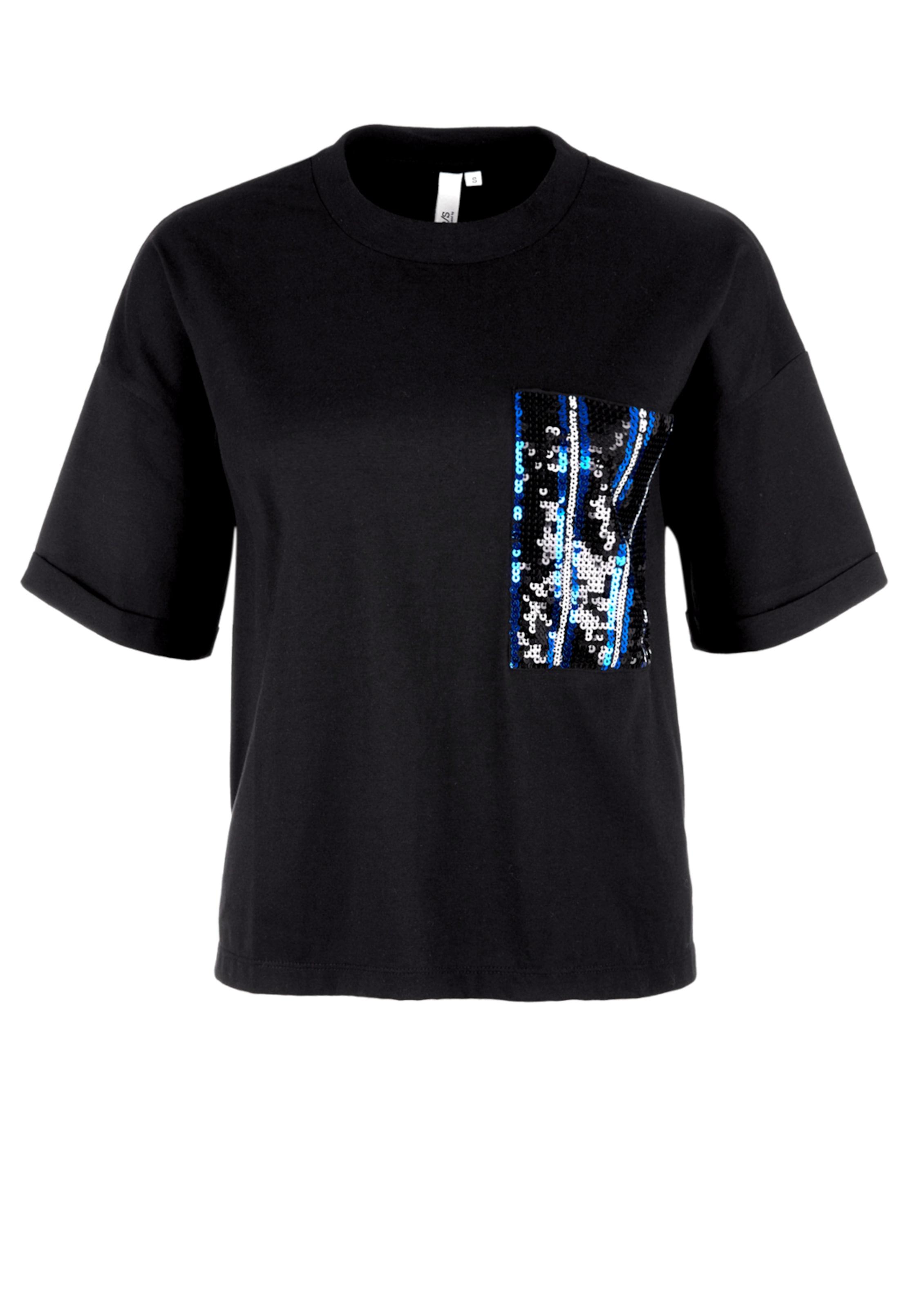 Q Weiß Schwarz s Designed In BlauHellblau By Shirt XPkNO8nw0
