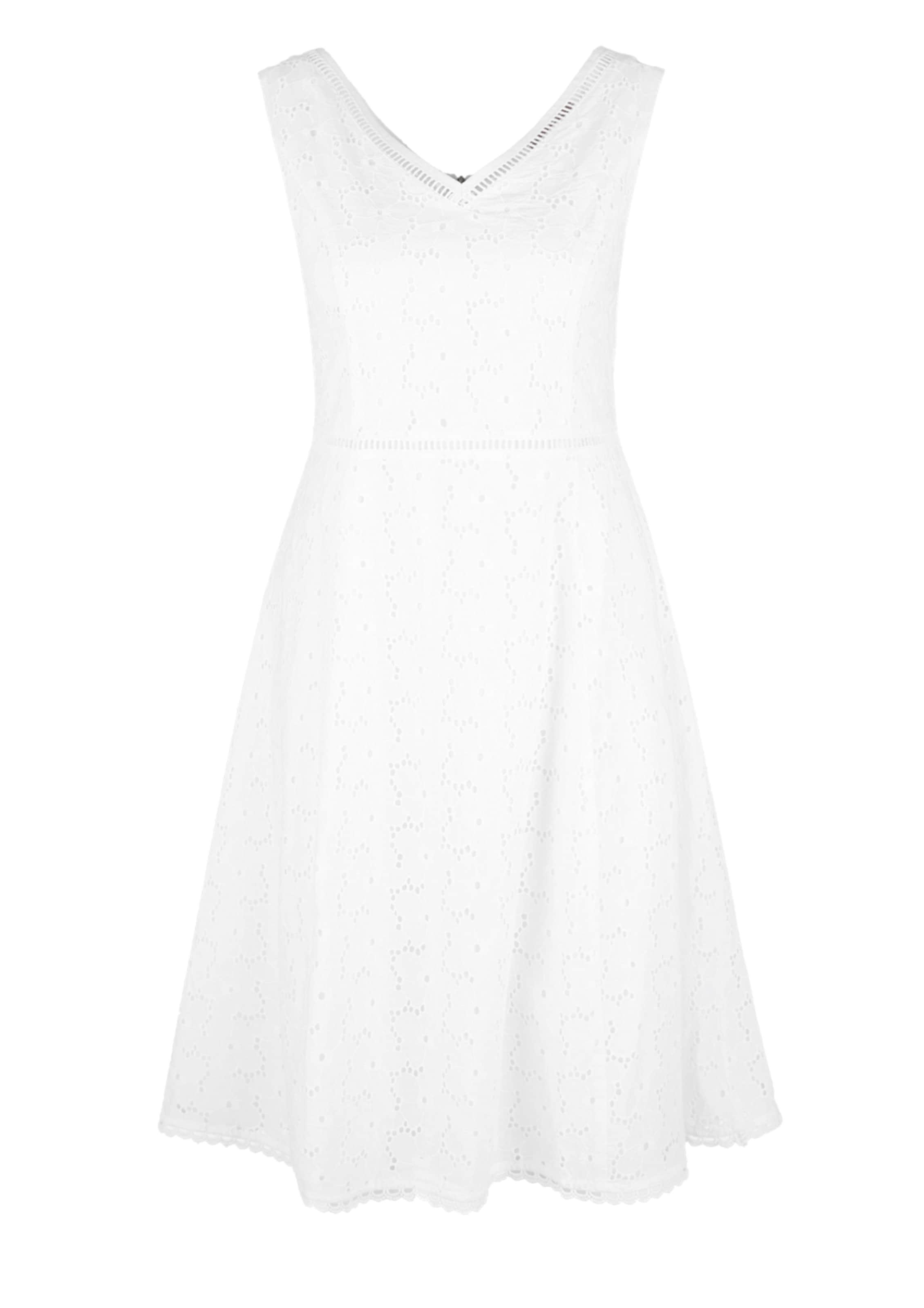 Red Blanc D'été S En oliver Label Robe c3FKJl1T