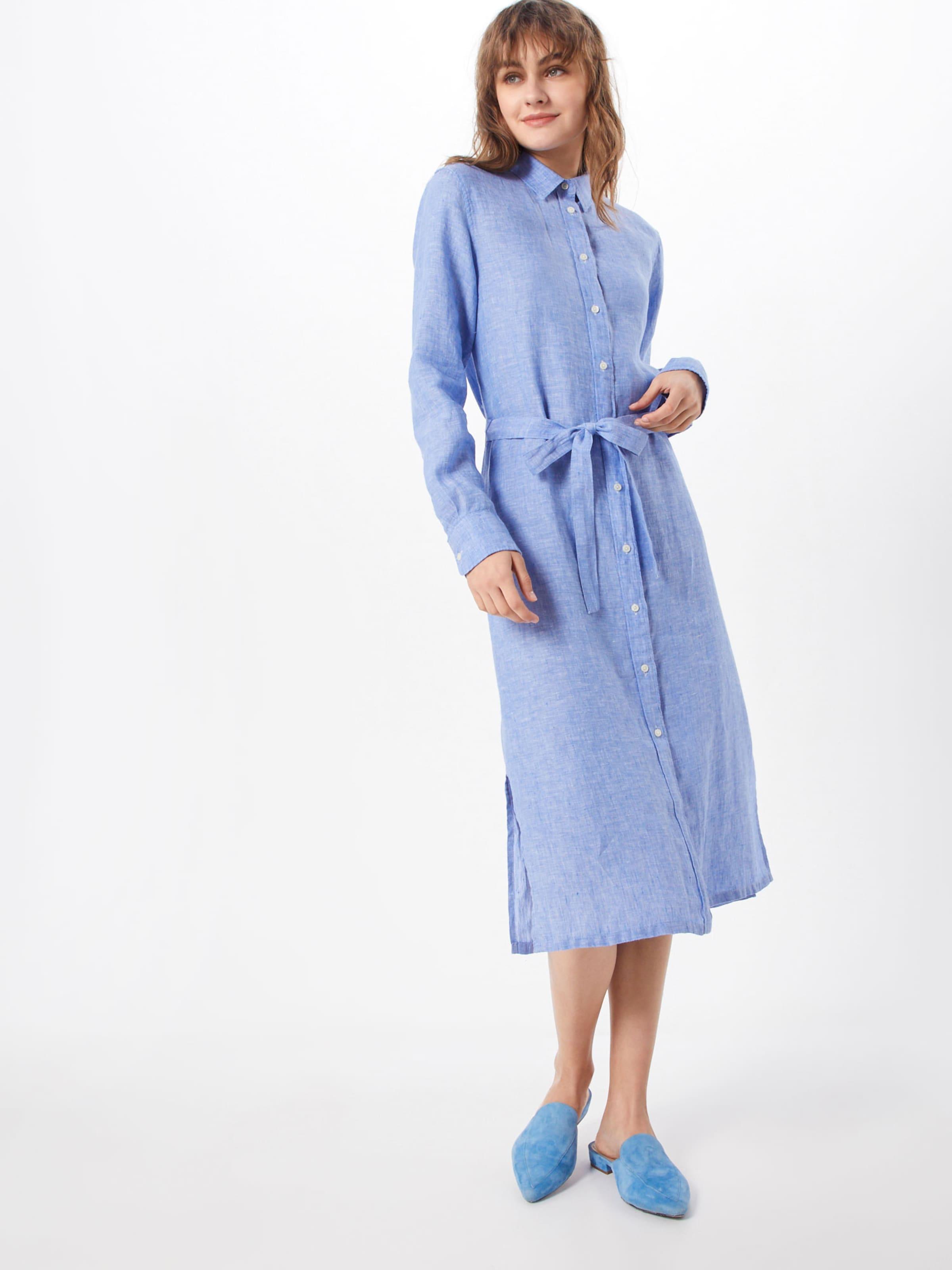 'o2Linen Gant En Bleu Clair Robe chemise Chambray' kXZPiu
