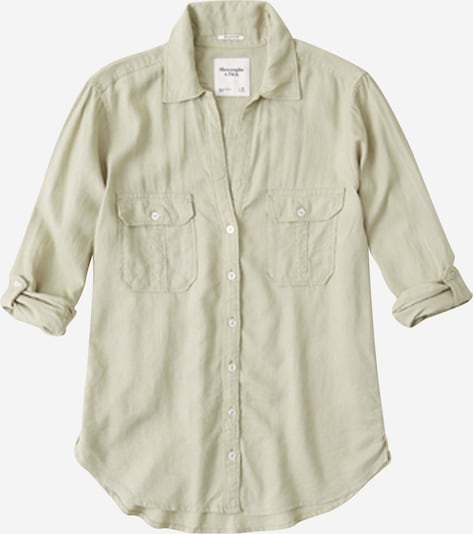 Abercrombie & Fitch Bluse 'UTILITY' in oliv, Produktansicht