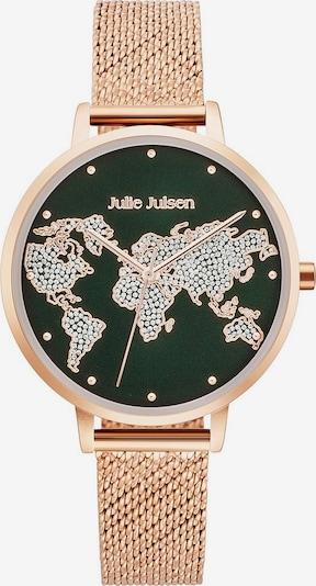 Julie Julsen Quarzuhr 'World Rosé' in rosegold / tanne, Produktansicht