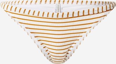 Icone Lingerie Bikinihose 'Top Palms' in beige / weiß, Produktansicht