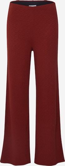 EDITED Pantalon 'Rian' en rouille / rouge rouille, Vue avec produit