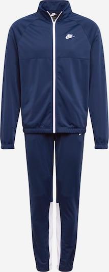 Laisvalaikio kostiumas iš Nike Sportswear , spalva - tamsiai mėlyna / balta, Prekių apžvalga