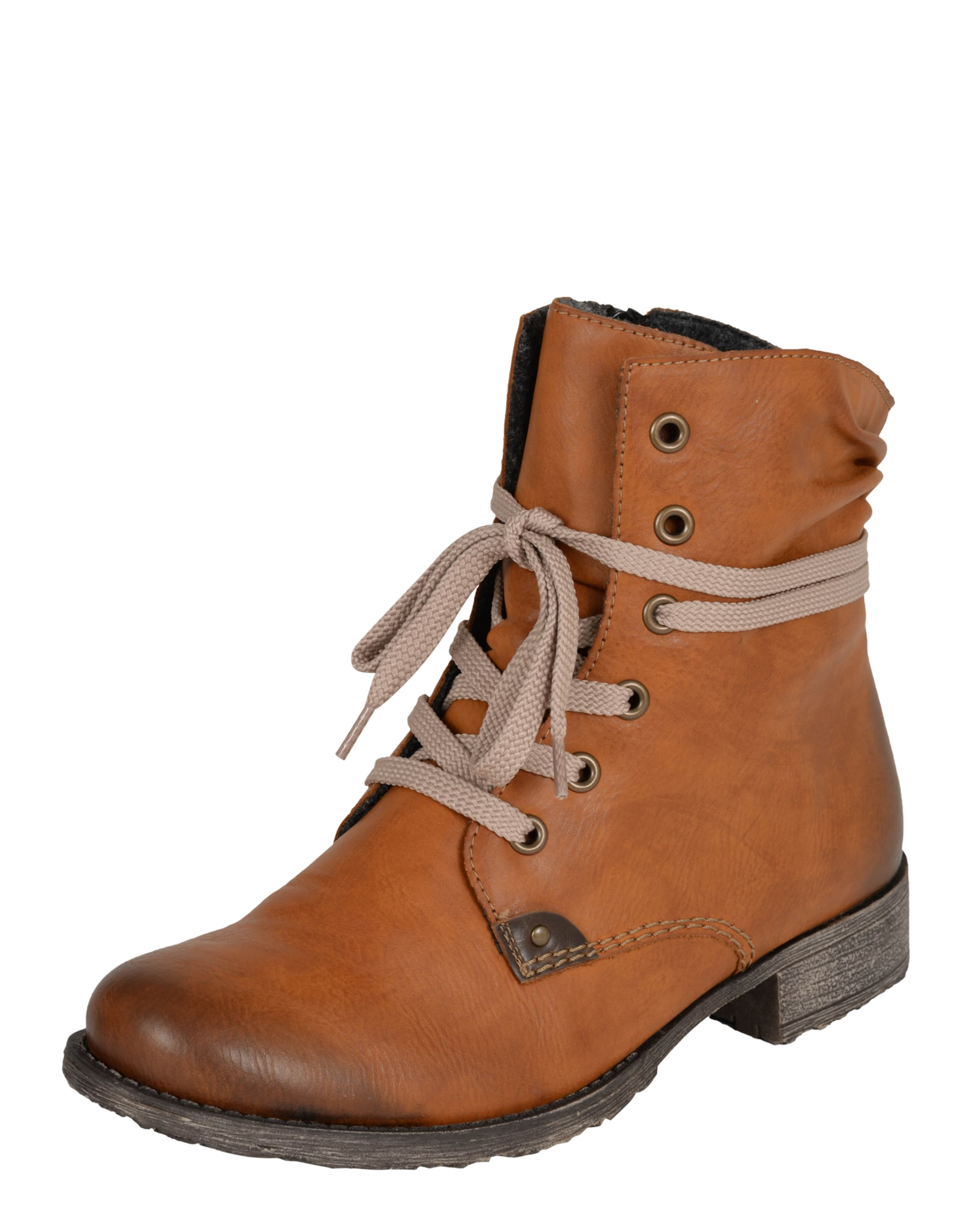 RIEKER Schnürstiefelette mit mit Schnürstiefelette Fleecefutter Günstige und langlebige Schuhe 7b3614