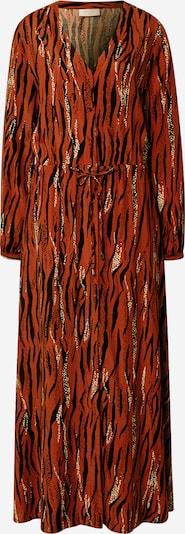 Freequent Šaty - karamelová / černá, Produkt