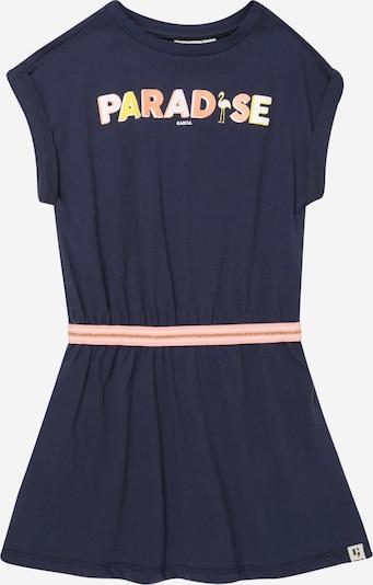 GARCIA Kleid in dunkelblau / gelb / altrosa / weiß, Produktansicht