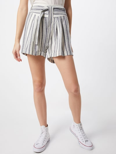 ONLY Shorts 'Alfina' in graphit / offwhite, Modelansicht