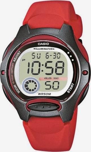 CASIO Uhr 'LW-200-4AVEF' in rot / schwarz, Produktansicht