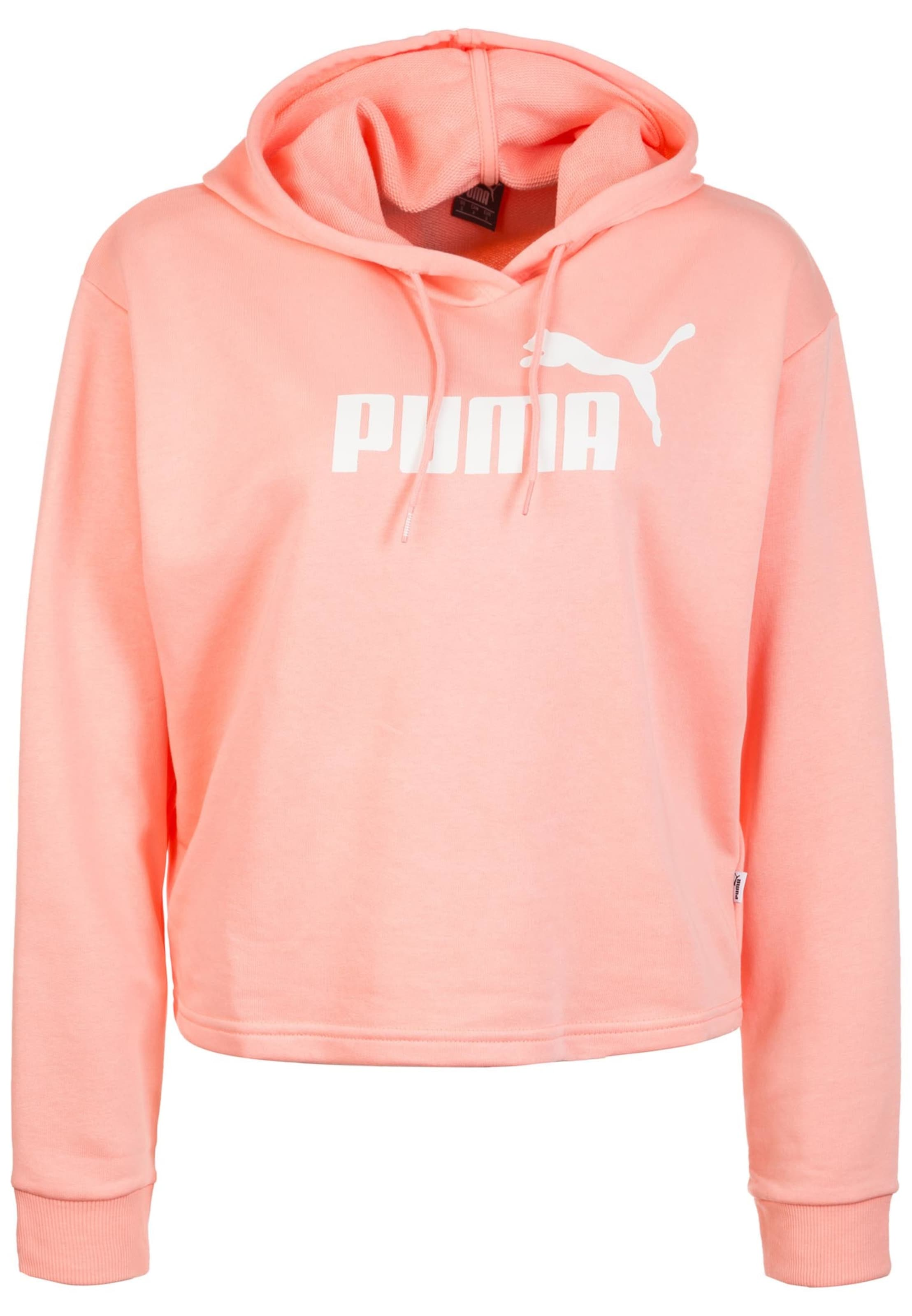 Puma Puma shirt shirt Sweat Sweat En CorailBlanc PuOkXZi