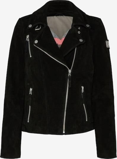 FREAKY NATION Prehodna jakna 'Bikerprincess' | črna barva, Prikaz izdelka