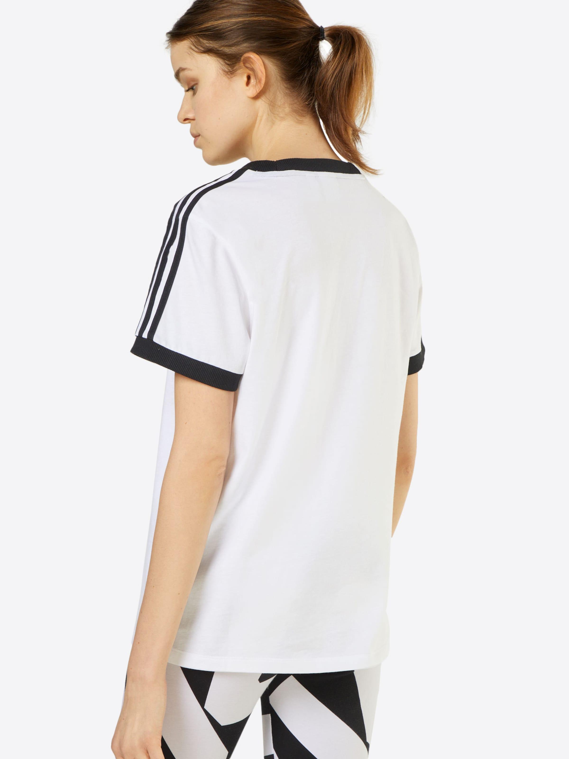 Originals Stripes T Weiß 3 In Adidas shirt bgmYf6vI7y
