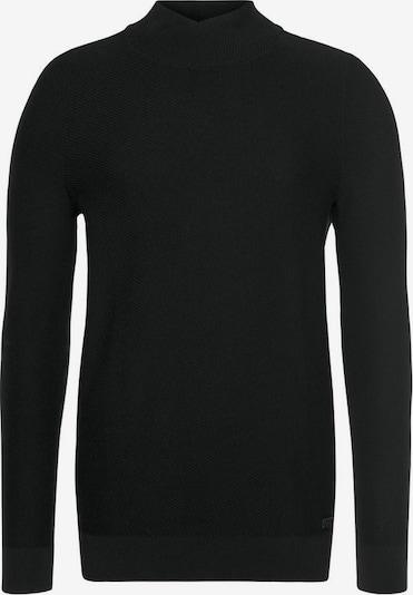BRUNO BANANI Strickpullover in schwarz, Produktansicht