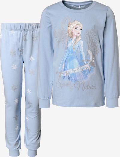 Pijamale 'Die Eiskönigin 2' NAME IT pe albastru deschis / culori mixte, Vizualizare produs