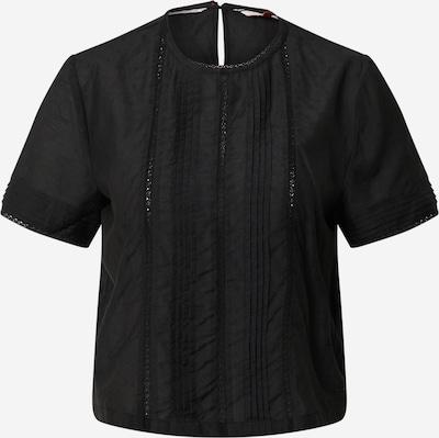 Tommy Jeans Blusentop 'TJW PINTUCK DETAIL' in schwarz, Produktansicht