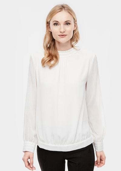 s.Oliver Bluse in weiß, Modelansicht