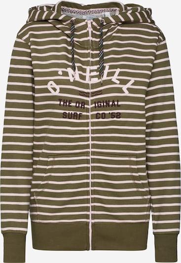 O'NEILL Bluza rozpinana 'LW EASY FANTASTIC FZ HOODIE' w kolorze oliwkowy / pudrowym, Podgląd produktu
