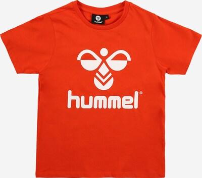 Hummel Tričko - homárová / biela: Pohľad spredu