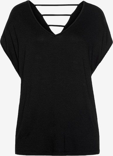LASCANA T-shirt i svart, Produktvy