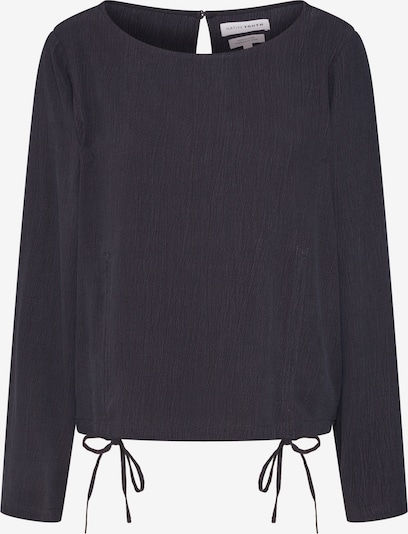 Native Youth Blouse 'THE MAYA CROP' in de kleur Navy, Productweergave