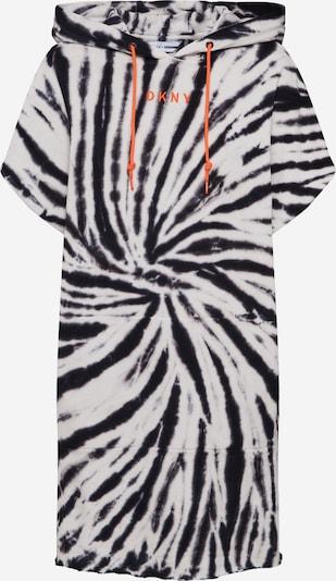 DKNY Performance Robe 'TIE-DYE HOODED SNEAKER' en gris / noir, Vue avec produit