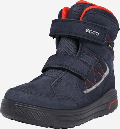 Sniego batai 'Urban Snowboarder' iš ECCO , spalva - tamsiai mėlyna / pilka / neoninė oranžinė, Prekių apžvalga