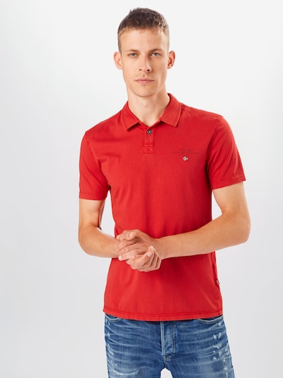 NAPAPIJRI Shirt 'ELLI' in rot: Frontalansicht