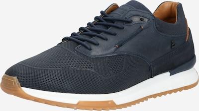 BULLBOXER Sneakers laag ' 989K20567B ' in de kleur Donkerblauw / Bruin / Wit, Productweergave