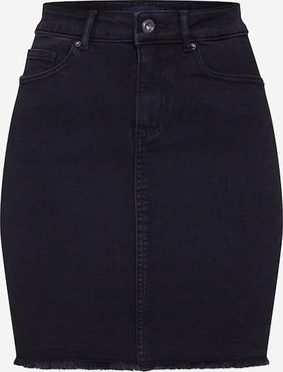 PIECES Rok 'AIA' in de kleur Black denim, Productweergave