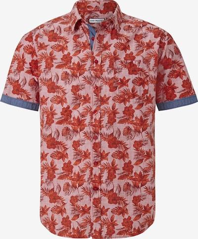 Shirtmaster Kurzarmhemd in rot, Produktansicht