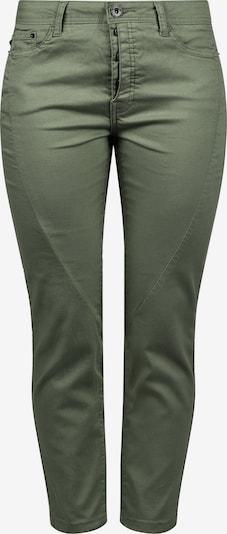 Desires Straight-Jeans 'Elbja' in oliv: Frontalansicht