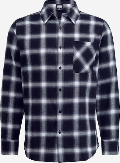 Urban Classics Košeľa - čierna / biela, Produkt